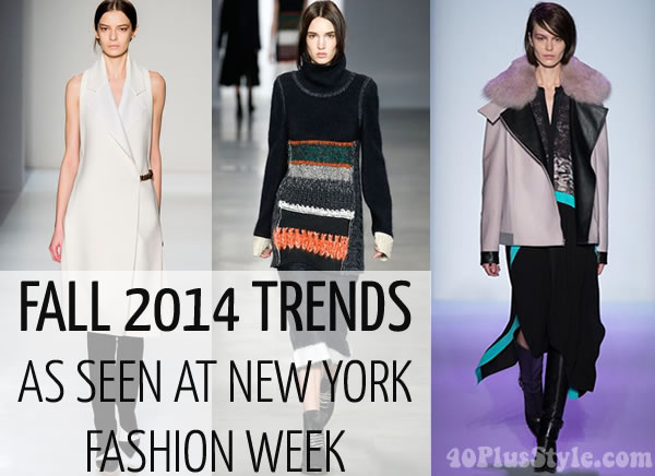 12 fashion trends for fall / winter 2014 | 40PlusStyle.com