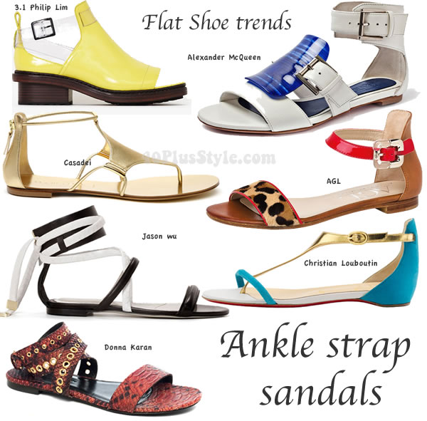 spring and summer 2014 flat shoe trends | 40PlusStyle.com