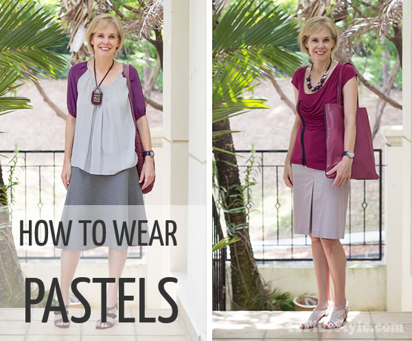 How to wear pastels: lots of ideas and inspiration | 40PlusStyle.com