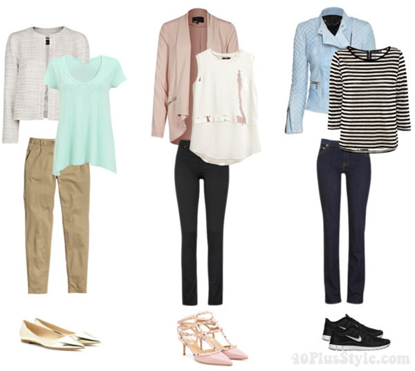 neutrals and pastels: How to wear pastels | 40PlusStyle.com