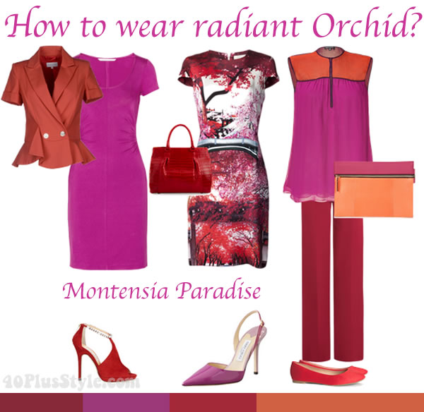 How to wear Radiant Orchid - the ultimate inspiration guide!