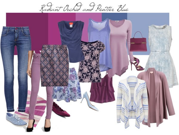 pastels and orchid - a soft color combination | 40PlusStyle.com