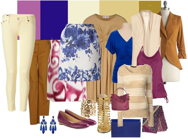 soft radiant orchid palette - royal orchid capsule wardrobe | 40PlusStyle.com