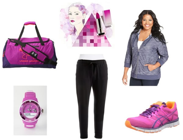 wearing radiant orchid in a casual way | 40PlusStyle.com