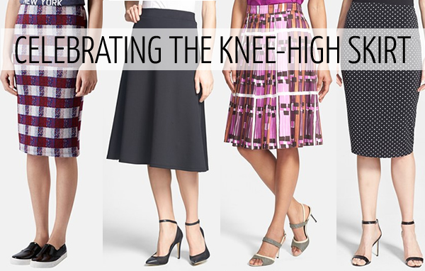 Some of the best knee-high skirts available online now