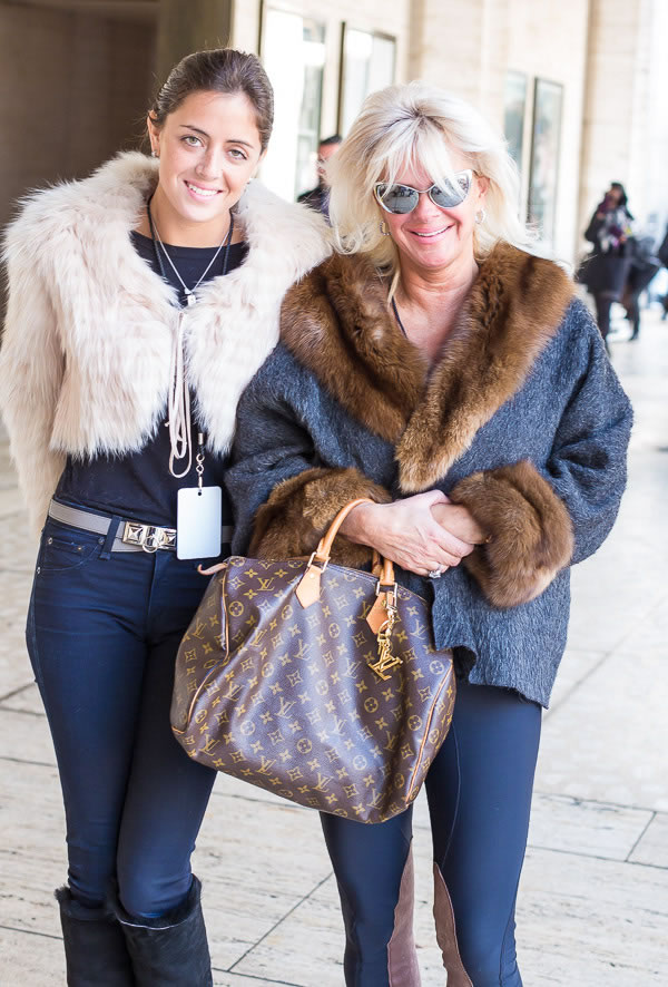 Rocking the skinnies |  Having twice the fun at New York Fashion Week | 40plusstyle.com