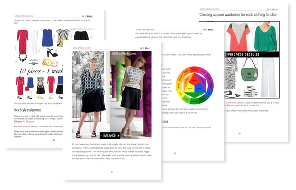 10 Steps to Refining Your style ebook & style course | by 40PlusStyle.com