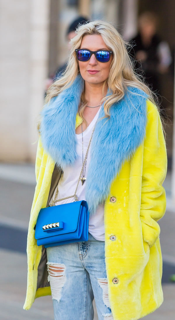 11 Best Streetstyle Looks By Women Over 40 Featuring: 40+ Style Inspiration: Wearing Color