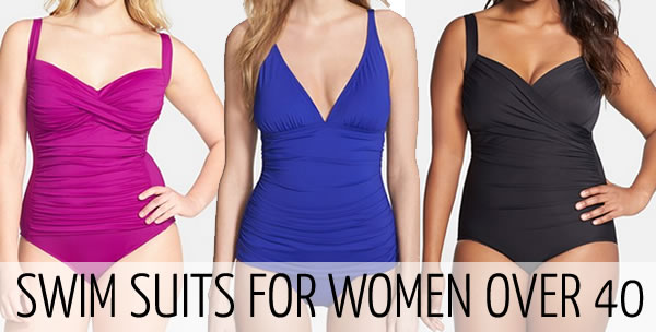 Swim suits for women over 40 | 40plusstyle.com