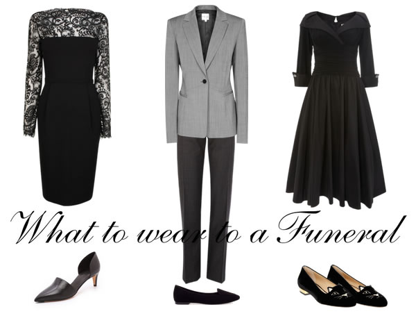 What to wear to a funeral | 40plusstyle.com
