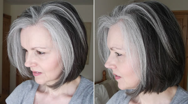 Pleasant Women With Fabulous Middle Long Gray Hairstyles Short Hairstyles For Black Women Fulllsitofus