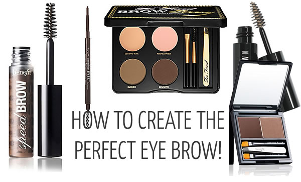 How to create the perfect eye brow | 40plusstyle.com