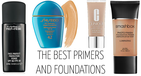 The best primers and foundations with spf protection!