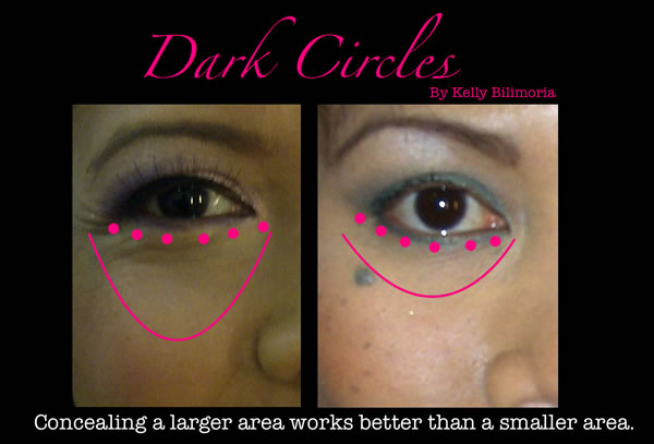 How to conceal dark circles under your eyes | 40plusstyle.com
