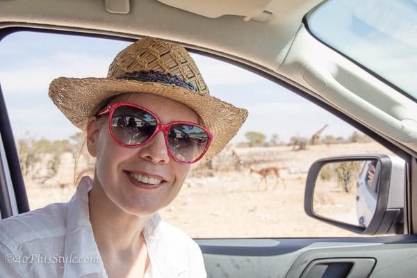 A safari through Etosha Park in Namibia and what I wore