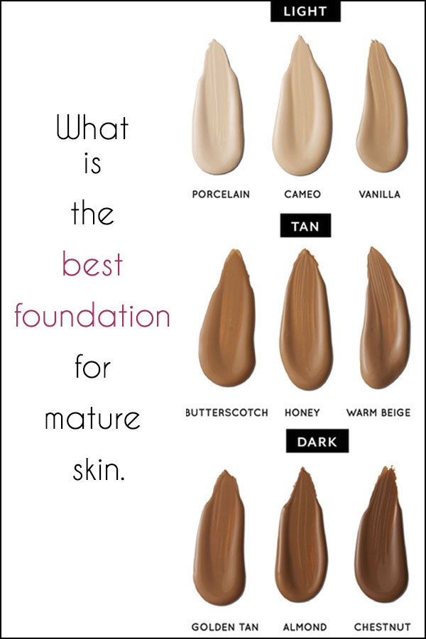 What Is The Best Foundation For Mature Skin