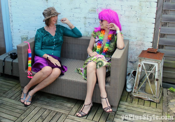 Playing dress-up with Greetje | 40plusstyle.com