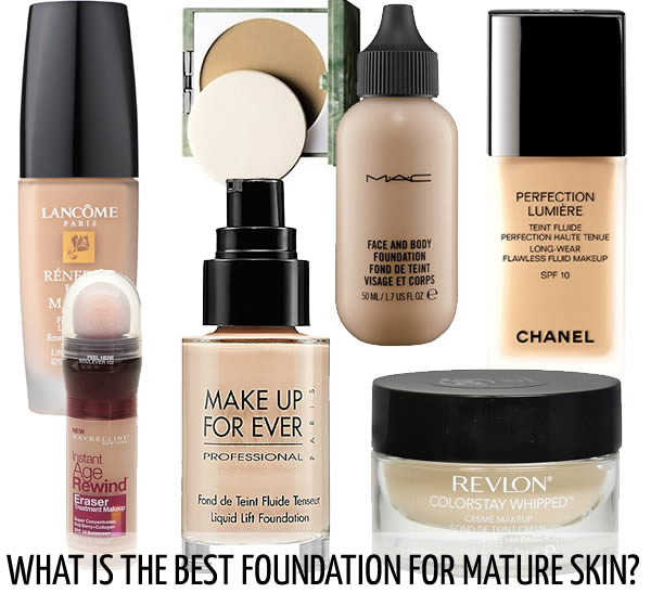 Best drugstore foundation for mature skin