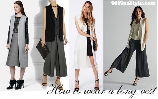 How to wear a long vest – ideas, inspiration and buying guide