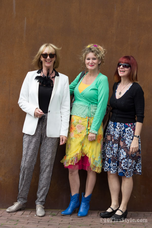 Greetje, Anja and Suzanne   40plusstyle.com