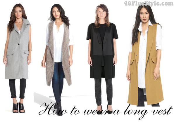 How To Wear A Long Vest Ideas Inspiration And Buying Guide