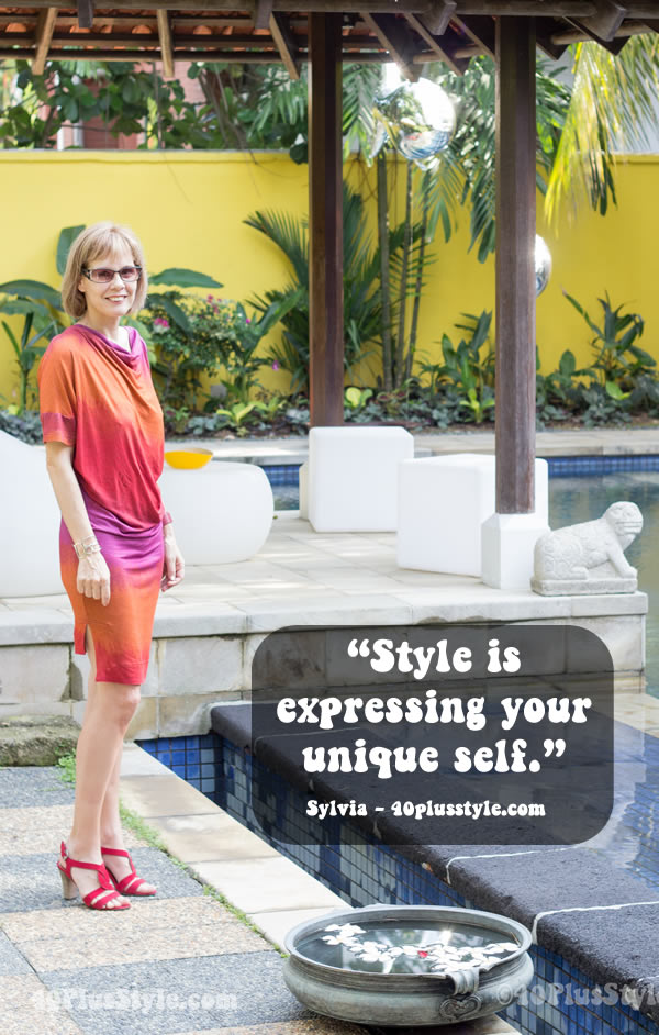 What is style by Sylvia | 40plusstyle.com