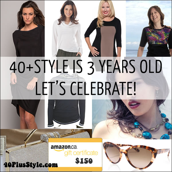 Celebrating the 3rd anniversary of 40+Style with a huge giveaway   40plusstyle.com