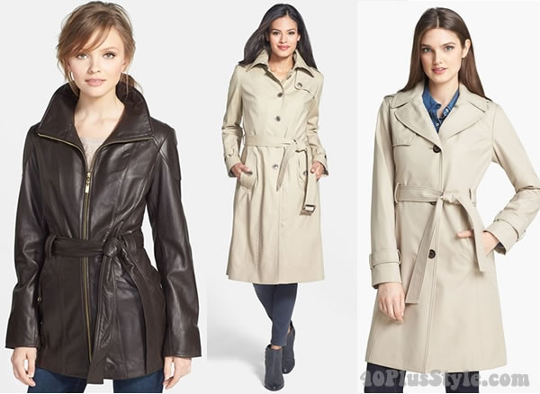 The wardrobe essential - the trench coat | 40plusstyle.com