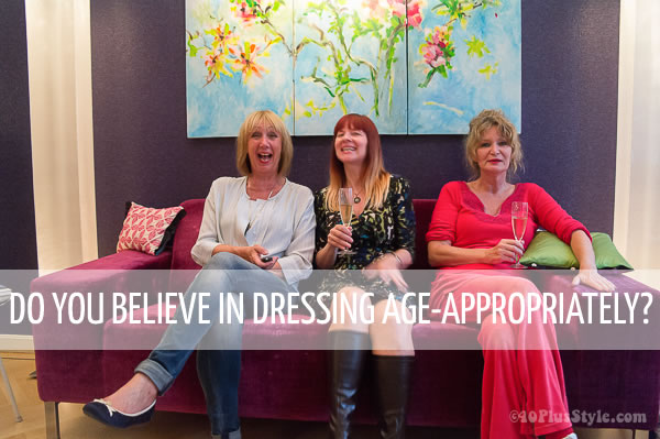 Do you believe in dressing age-appropriately?   40plusstyle.com