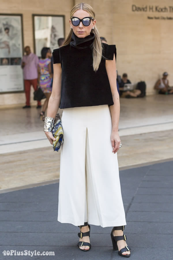 Streetstyle Inspiration Culottes Will You Embrace Them