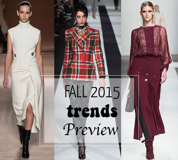 Best trends for fall 2015 spotted at New York Fashion Week | 40plusstyle.com
