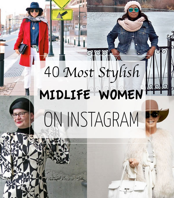 Post image for The 40 most stylish midlife women on Instagram you should follow right now!