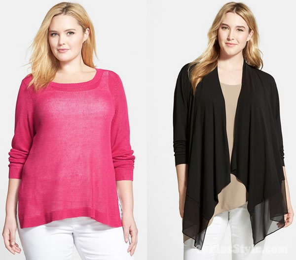Eileen Fisher tops plus sizes | 40plusstyle.com