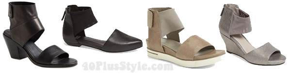 Eileen Fisher shoes | 40plusstyle.com