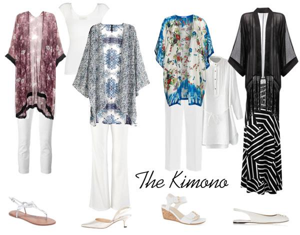 How to wear a kimono | 40plusstyle.com