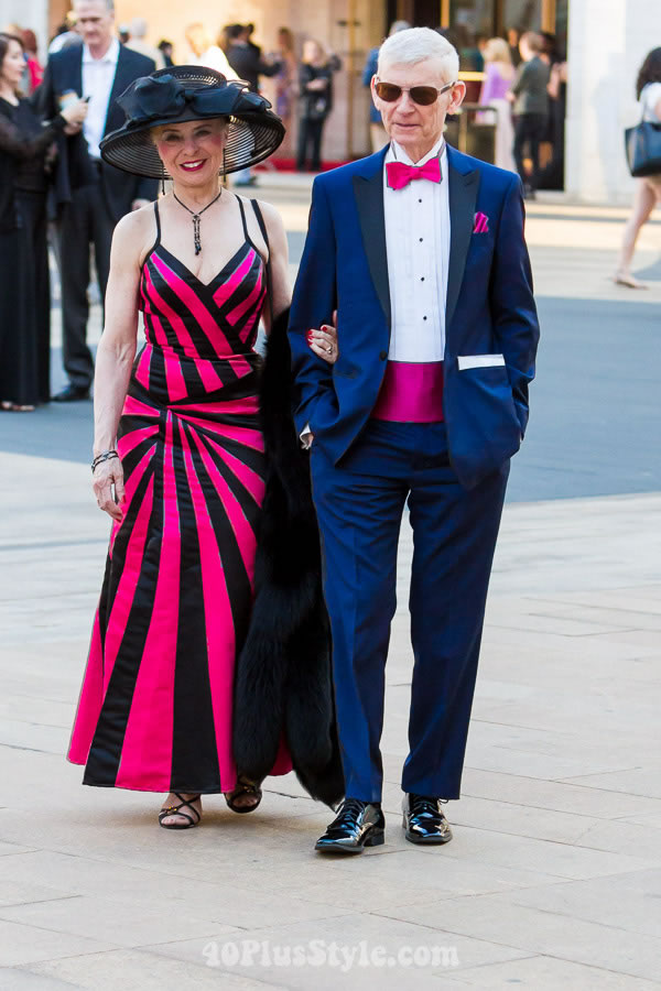 23 Colorful looks from the New York City ballet gala! What is your favorite? | 40plusstyle.com