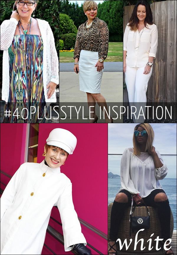 Post image for #40plusstyle inspiration: a celebration of white!