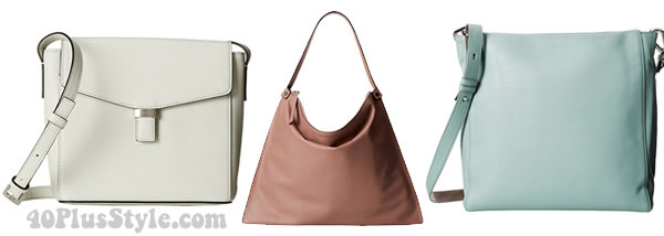 leather bags by Ecco | 40plusstyle.com