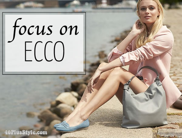 Ecco shoes - comfortable shoes that still look hip and fashionable!