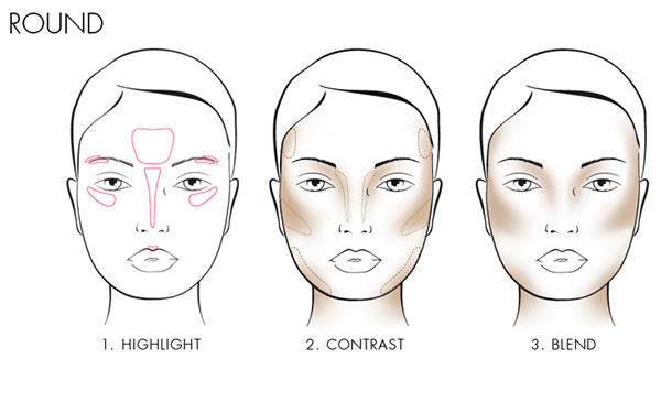 How to controur a round face | 40plusstyle.com