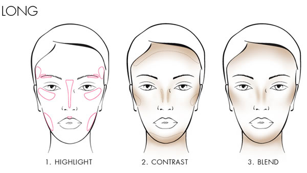 How to contour a long face | 40plusstyle.com