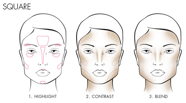 How to contour a square face | 40plusstyle.com