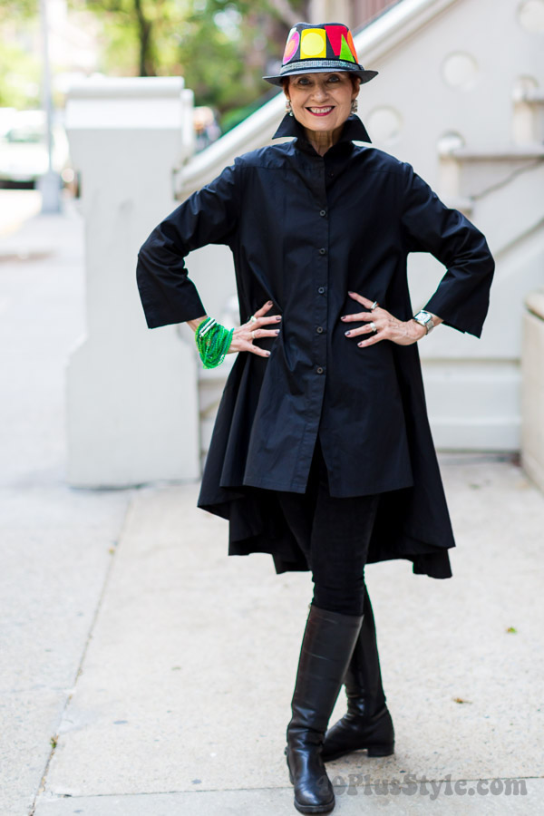 The Style Crone in New York | 40plusstyle.com