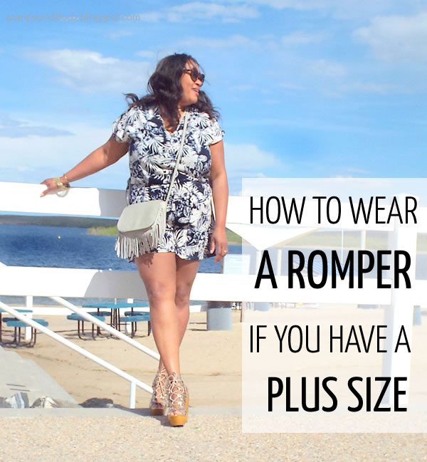 Post image for How to wear a romper if you have a plus size