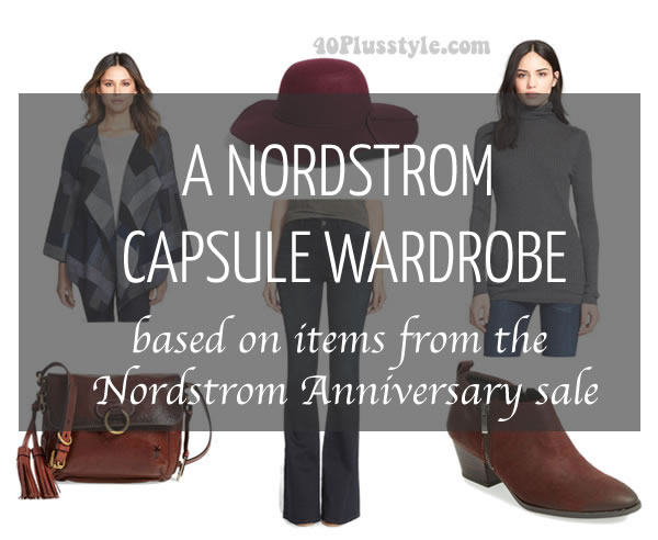 Fabulous and on sale this week: A capsule wardrobe wardrobe for fall! | 40plusstyle.com