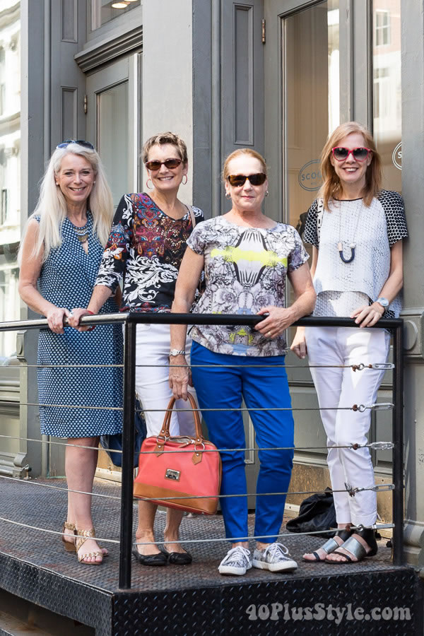 Shopping in Soho with 40+Style readers! | 40plusstyle.com