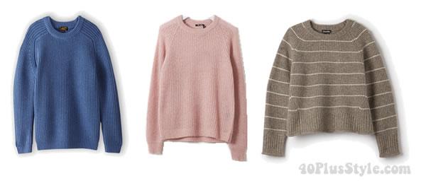 Fallribbedsweaters