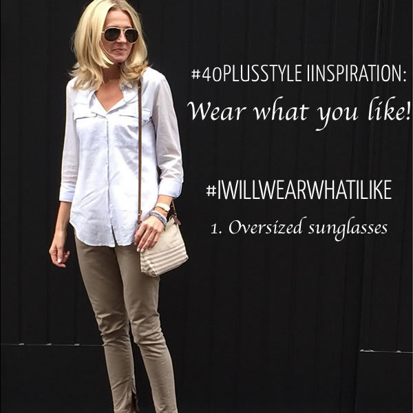 #40plusstyle inspiration: Wear what you like! | 40plusstyle.com