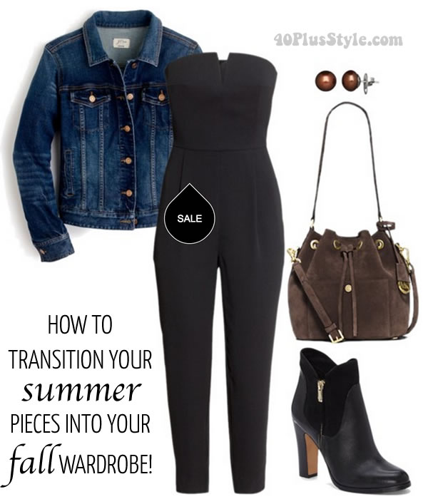 How to transition you summer pieces into your fall wardrobe   40plusstyle.com