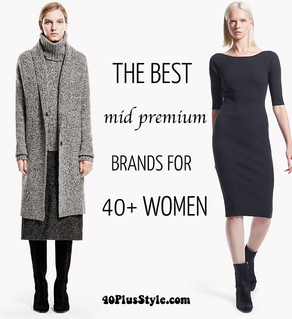 The best mid premium brands for women over 40 | 40plusstyle.com
